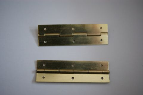"2"" x 5/8""Brass Hinges"
